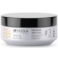 Indola Styling Texture Soft Clay - Глина для волос легкой фиксации 85 мл
