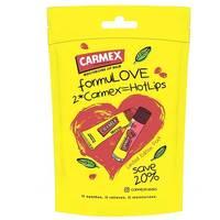 Carmex - Набор бальзамов (классика туба 10 г и стик гранат 4,25 г)
