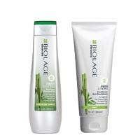 Matrix Biolage Fiberstrong - Новогодний набор для укрепления волос (шампунь 250 мл, кондиционер 200 мл)