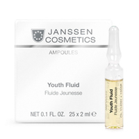 Janssen Skin Excel Glass Ampoules Youth Fluid - Ревитализирующая сыворотка в ампулах 25*2 мл