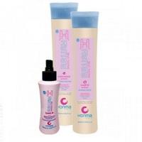 Honma Tokyo H-Brush Special Care - Набор для продления гладкости волос (шампунь 300 мл, кондиционер 300 мл, несмываемый кондиционер 150 мл)