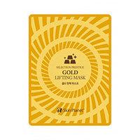 Mijin Cosmetics Skin Planet Gold Lifting Mask - Маска для лица тканевая с золотом лифтинг эффект 25 г