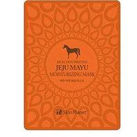 Mijin Cosmetics Skin Planet Jeju Mayu Moiturizing Mask - Маска для лица тканевая с лошадиным жиром 25 г