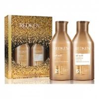 Redken All Soft Set 2021 - Новогодний набор для сухих и поврежденных волос (шампунь 300 мл, кондиционер 300 мл)