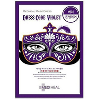 Mediheal Mask Dress Code Violet - Маска тканевая для лица 27 мл