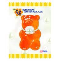 Frienvita JellyFrien Pearl Bear Mask - Тканевая маска с экстрактом жемчуга для увлажнения, упругости и сияния кожи 23 г