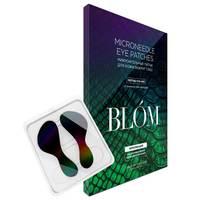 BLOM Microneedle Eye Patches Syn-Ake - Микроигольные патчи с пептидом от мимических морщин 1 пара