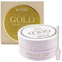 Petitfee Gold & EGF Eye & Spot Patch - Патчи для глаз с золотом 60*1,1 г