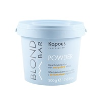 Kapous Blond Bar Blond Bleaching Powder With Anti-Yellow Effect - Обесцвечивающая пудра с антижелтым эффектом 500 г
