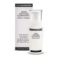 Planter's AcidoIaluronico Acido Iialuronico Siero Anti-Age Illuminante Viso Ecollo - Сыворотка для лица и шеи антивозрастная гиалуроника 30 мл