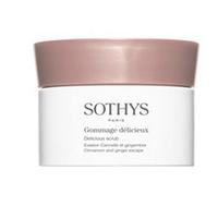 Sothys Delicious Scrub Cinnamon And Ginger Escape - Изысканный скраб для тела с корицей и имбирем 800 мл