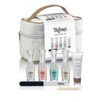 Trind «Beauty Case» Set - Набор для общего ухода за ногтями и руками в косметичке 4*9 мл+25 мл+1 шт