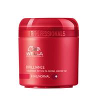 Wella Brilliance Line - Крем-маска для окрашенных нормальных и тонких волос 150 мл
