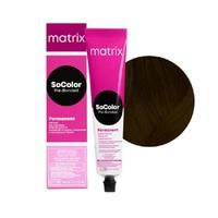 Matrix SoColor Pre-Bonder - Крем-краска для волос с бондером 2N чёрный 90 мл