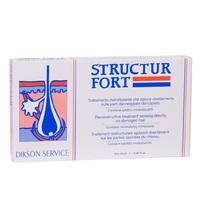 Dikson Structur Fort - Средство мгновенного действия для восстановления безжизненных, посеченных и ослабленных волос в ампулах 10*12 мл