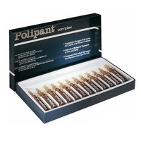 Dikson Polipant Complex - Уникальный биологический ампульный препарат с протеинами, плацентарными и растительными экстрактами для лечения выпадения волос и ухода за кожей головы 12*10 мл
