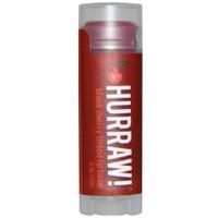 Hurraw Black Cherry Tinted Lip Balm - Бальзам для губ черешня