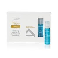 Alfaparf Semi Di Lino Diamond Illuminating Essential Oil - Масло увлажняющее и придающее блеск для нормальных волос, 12 ампул по 13 мл