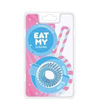 """EAT MY Bobbles Blueberry Pop - Резинки для волос """"голубичный леденец"""" 3 шт"""