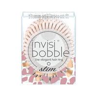 Invisibobble Slim In an Elephant Minute - Резинка-браслет для волос (нежно-розовый с вкраплениями бронзового оттенка) 3 шт