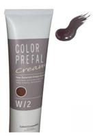 Lebel Color Prefal Cream - Крем-краска для волос W1 темный тепло коричневый 140 гр