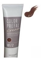 Lebel Color Prefal Cream - Крем-краска для волос W3 теплый свело-коричневый 140 гр