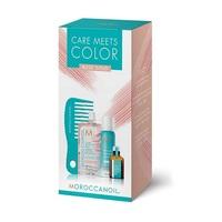 Moroccanoil Color Meets Care Rose Gold - Набор Тонир (тонирующая маска 30 мл; сух шампунь д/св волос 65 мл; масло для св волос; мини-расческа)