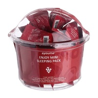 Ayoume Enjoy Mini Sleeping Pask - Набор маска для лица ночная антивозрастная 3 гр х 30 шт