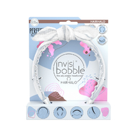 Invisibobble Hairhalo Nordic Breeze Midsommar Love - Ободок для волос (белый)