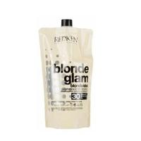 Redken Blonde Glam Cream Developer 30Vol - Оксид проявитель для обесцвечивающих паст 9% 1000 мл