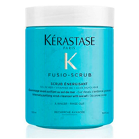 Kerastase Fusio Scrub Energisant - Очищающий тонизирующий скраб для кожи головы 500 мл