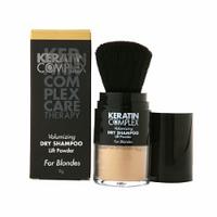 Keratin Complex Volumizing Dry Shampoo Lift Powder For BLONDES - Шампунь сухой-пудра для блондинок 9 гр