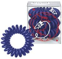 Invisibobble Universal Blue - Резинка-браслет для волос (темно-синяя) 3 шт