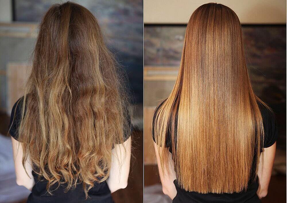 холодное ламинирование волос